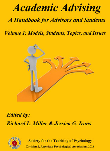 Society for the teaching of psychology e books academic advising a handbook for advisors and students volume 1 models students topics fandeluxe Image collections
