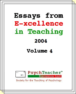 [Essays from Excellence in Teaching 2004 Vol. 4]