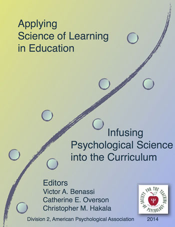 Society For The Teaching Of Psychology Asle2014